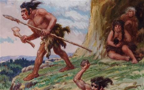 Neanderthal gezin
